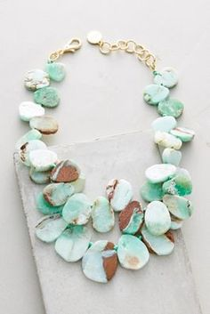 Algarve Bib Necklace | Anthropologie
