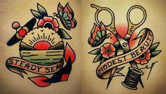 sailor jerry | Tumblr                                                                                                                                                                                 Más