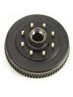 "8-393-4 --- Grease Hub & Drum only with Races & 9/16"""" Studs - 7,200 lb"