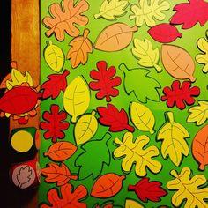 Begeleide of zelfstandige activiteit - Het grote herfst spel