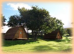 Summer trip? Camping Huts - Applecross Campsite - Applecross Peninsula