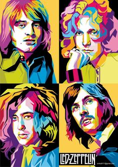 Led Zeppelin by Miftachur.
