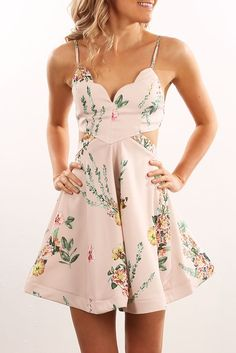 Will You Be Mine Dress Blush