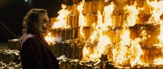 Thanks to the Internet, We Now Know How Much Money the Joker Burned in The Dark Knight