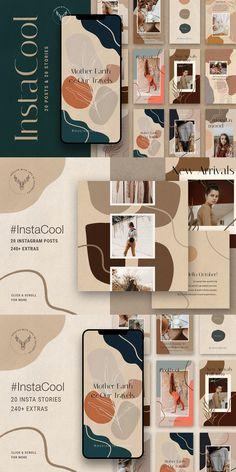 Instagram Feed Ideas Posts, Instagram Feed Layout, Instagram Grid, Instagram Post Template, Instagram Design, App Design, Site Web Design, Branding Design, Logo Design