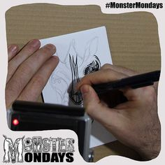 It continues... the creation of Monster Mondays No.3!! Getting there now...What do you think?? And the surprise??? Click the link and you might 'like' it!! <<http://ow.ly/UGz4a >> hehe #MonsterMondays #monster #drawing #penandink #art #instaart #instaartist #artist #mentalhealth #mentalhealthawareness #anger #illustration #wip #lion #graphic #anxiety #depression #smashthestigma #stigmafighter #suicideawareness #mentalhealthmatters #recoveryispossible #mentalhealthrecovery