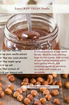 Raw, healthy nutella - vegan! :-)