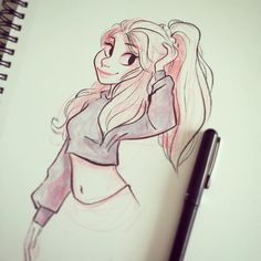 Little sketchbook ink. It's been a while!