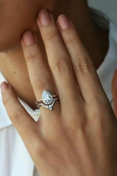 This will be my engagement ring! I'm obsessed with how different it is!