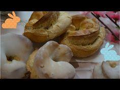 Taralli di Pasqua pugliesi con glassa - YouTube Italian Biscuits, Italian Cookies, Italian Desserts, Italian Recipes, Beignets, Amazing Cookie Recipes, Greek Recipes, Food Menu, Holiday Recipes