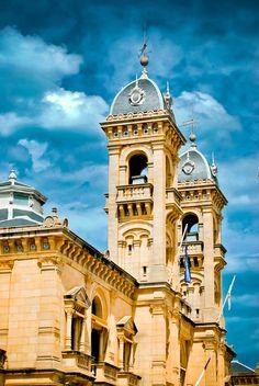 San Sebastian Town Hall, Basque Country, Spain