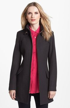 Buffalo by David Bitton Wool Blend Military Coat (Online Only) available at #Nordstrom On sale in Kale