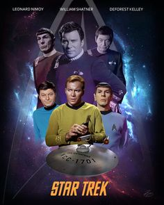 Star Trek, from TV to Movies| @vedrinamostar #vedrinamostar