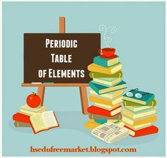 Free Homeschool Lesson Plans Online Resources And Printables For A Unit About The Periodic