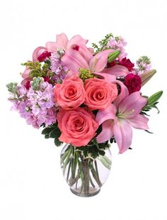 This gorgeous bouquet is waiting for your sweetheart at the Dahlonega Flower Mart! Call or click today to order!