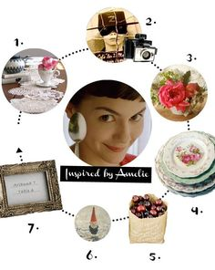 inspired by amelie | wedo.