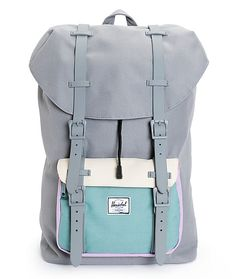 This large size mountaineering inspired backpack in a colorblock pattern is built with a durable design and ample storage space that can keep up with all your demands.