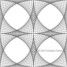 4 inch hexagon pattern. Use the printable outline for