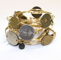 Bourbon and Boweties! Coin Bangle