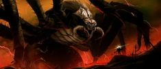 Ungoliant | Community Post: 5 Tolkien Villains That Are Too Big For The Big Screen