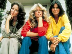 Jaclyn Smith, Kate Jackson, and Farrah Fawcett - Charlie's Angels