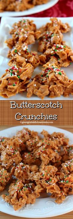 Butterscotch Crunchies ~ If you love butterscotch, and you love peanut butter, than you are going to LOVE these! These butterscotch crunchies are delicious!