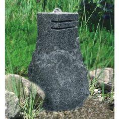 Vulcano  - Gartenbrunnen aus Granit 50 cm