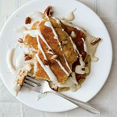 Italian Cream Pancakes Recipe | MyRecipes.com Mobile