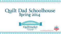 John Adams aka Quilt Dad's Schoolhouse - Beyond Neutrals Book - 2014 Int...