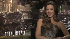 Kate Beckinsale talks about Total Recall