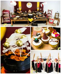 Harry Potter Birthday Party via Kara's Party Ideas | The Place for all things PARTY! KarasPartyIdeas.com (1)