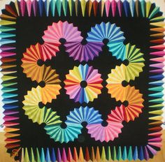 Split Blade Dresden quilt workshop by Anelie Belden