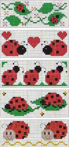 Brilliant Cross Stitch Embroidery Tips Ideas. Mesmerizing Cross Stitch Embroidery Tips Ideas. Bookmarks Kids, Crochet Bookmarks, Cross Stitch Bookmarks, Cross Stitch Cards, Cross Stitching, Cross Stitch Embroidery, Cross Stitch For Kids, Cross Stitch Baby, Cross Stitch Alphabet