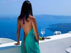 Santorini//  Really would love to be able to spend time here (lottery or not)!!