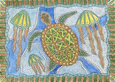 Rie Designed: A Sketch a Day-Day 173-Aboriginal Art