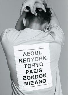 Korean X English T shirts 한글 티셔츠 super cool!!!