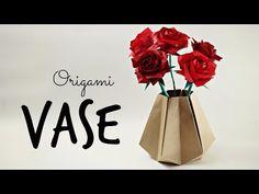 Origami Vase (Tadashi Mori) - YouTube