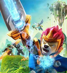 Lego Legends of Chima on Behance