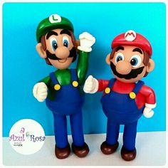 Mario Bross y Luigi. Masa Flexible