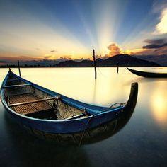 Nai lagoon, Phan Rang city, Ninh Thuan province, Viet Nam