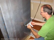 Did You Know You That Stainless Steel Paint Even Existed? We Used Liquid  Stainless Steel Paint On Our Old Refrigerator.