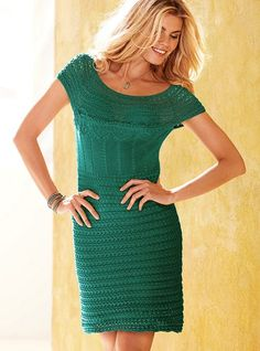 Crochet Mini Dress - Victoria's Secret