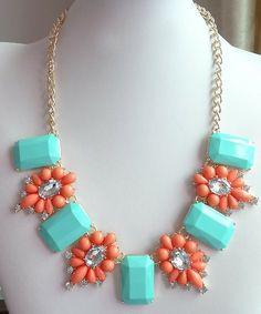 Crystal Tile Necklace