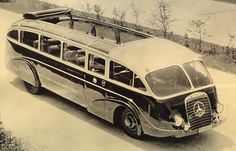 Benz bus. Pinned by http://flanaganmotors.com