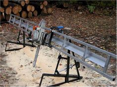 Excellent Table Saws, Miter Saws And Woodworking Jigs Ideas. Alluring Table Saws, Miter Saws And Woodworking Jigs Ideas. Woodworking Equipment, Woodworking Projects, Welding Projects, Fine Woodworking, Homemade Chainsaw Mill, Chainsaw Mill Plans, Portable Saw Mill, Miter Saw Reviews, Best Random Orbital Sander