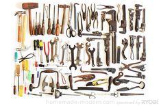 HomeMade Modern DIY EP19 Screwdriver Coat Rack Tools