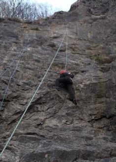 Rock climbing // 7 adrenaline-filled activities to try in North Somerset // www.northsomersettimes.co.uk