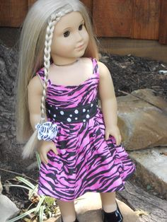 18 Inch American Girl Doll Clothes Wild Thing Wrap by TCsTreasures, $10.00