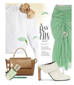 """""""Sand, sea and salt."""" by laste-co ❤ liked on Polyvore featuring Marni, A.W.A.K.E., rag & bone, Henri Bendel, NYX, Dominique Denaive, Ex Nihilo and beautifulspringskirt"""