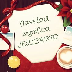 Es JESUS el único significado de la Navidad! Asegúrate de celebrar Su amor.